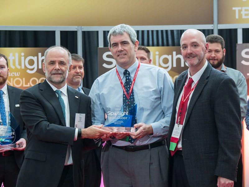 Awardees during Spotlight on New Technology Presentation