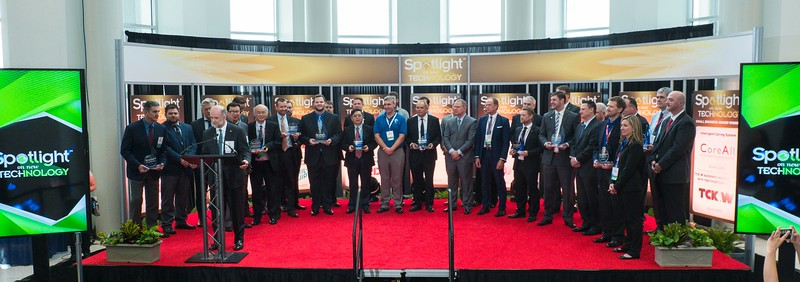 Awardees during Spotlight on New Technology Presentation