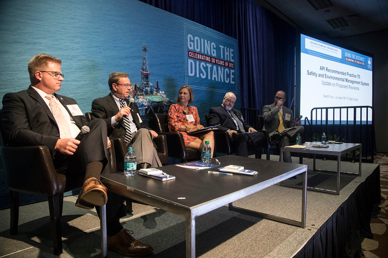 Russell Turner speaks during PANEL: Center for Offshore Safety: Interaction of Culture, Systems, and Human Performance ? The Next Step in Safety Management