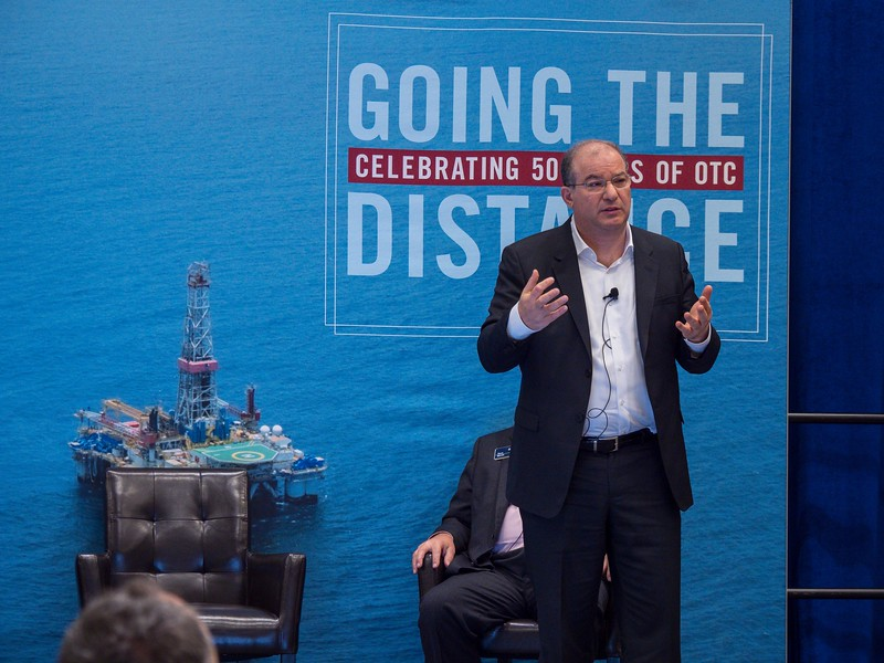Fawaz Bitar, Head of Upstream Global Operations, BP speaks during Ethics Breakfast: Center for Offshore Safety: Could This Be the Next Step Change in Safety?