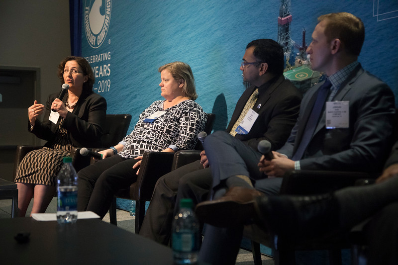 Diane Chadwick-Jones speaks during PANEL: Center for Offshore Safety: Interaction of Culture, Systems, and Human Performance ? The Next Step in Safety Management