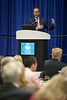 Director, BSEE, Scott Angelle speaks during Topical Luncheon: Center for Offshore Safety: Perspectives Regarding Safety, Safety Management,