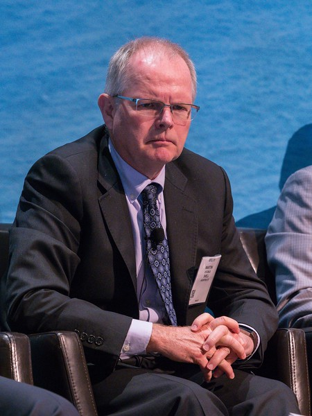 Martin Stauble, Vice President Exploration, North America and Brazil, Shell during PANEL: One Gulf Reaching 50 Billion BOE and Growing