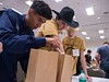 Students work together during Energy Education Institute: High School Student STEM Event