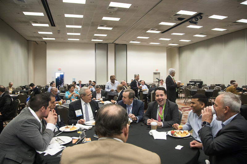 Attendees during Topical Breakfast: The New PEMEX Post Energy Reform: Realizing Opportunities and Managing Risk in the Mexican Petroleum Industry