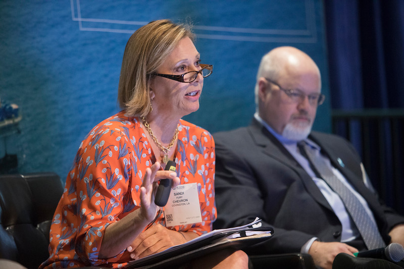 Sandi Fury speaks during PANEL: Center for Offshore Safety: Interaction of Culture, Systems, and Human Performance ? The Next Step in Safety Management