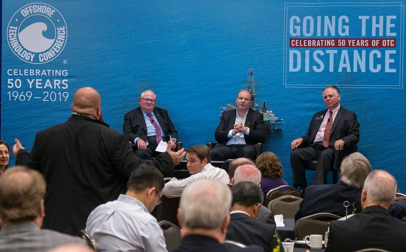 Speakers and attendees during Ethics Breakfast: Center for Offshore Safety: Could This Be the Next Step Change in Safety?