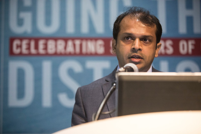 Dr. I Thusyanthan speaks during Morning Technical Sessions