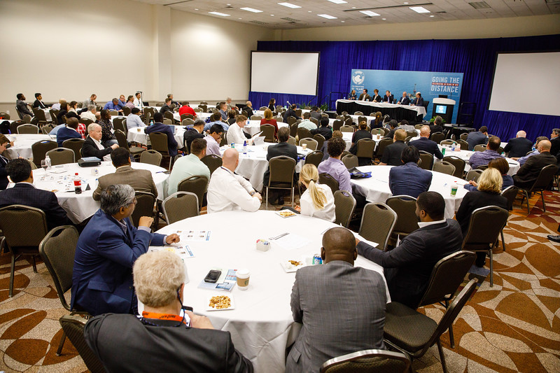 Panelists and Attendees during Networking Event: Automation, Efficiency, and Optimization Offshore: Remote Management of Our Industry