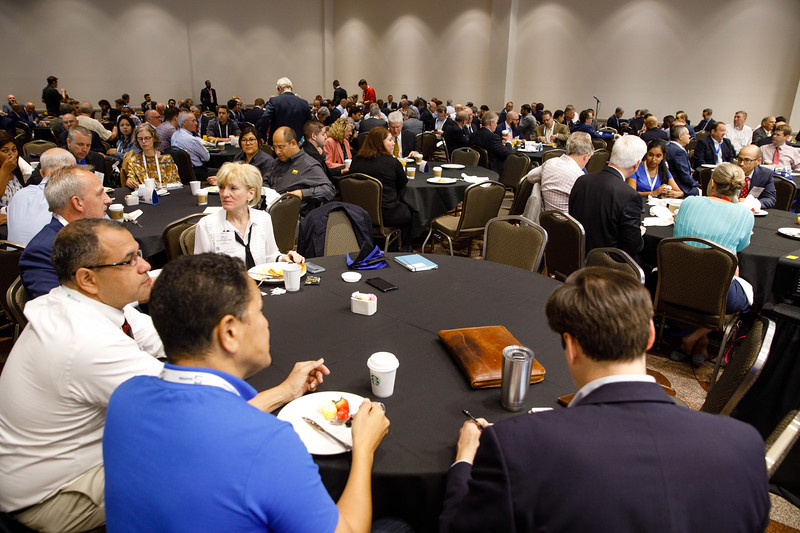 Attendees during Topical Breakfast: Industry Breakfast: Guyana and Suriname