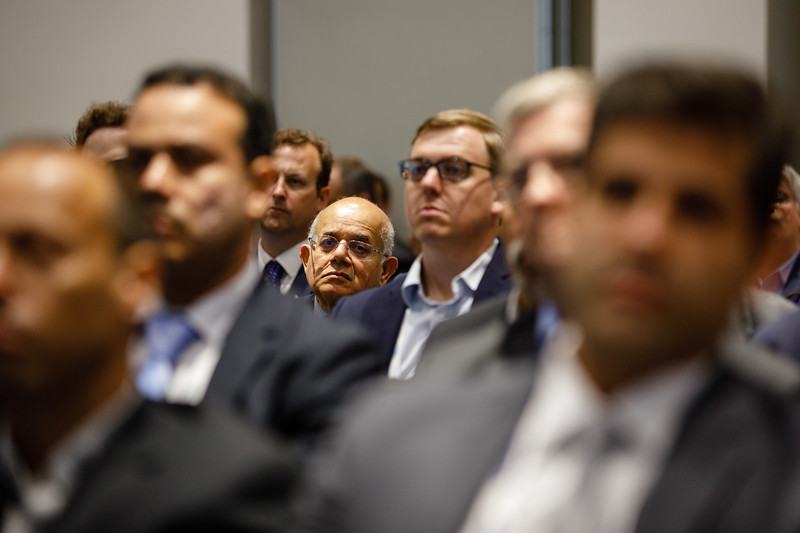 Attendees during Afternoon Technical Session: CEO Panel: Integrated Offshore Activities, Mega Mergers, and Alliances: A Competitive Integration