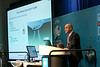 Stephan Eyssautier, from Subsea 7, speaks during Afternoon Technical Session: Risers and Pipelines