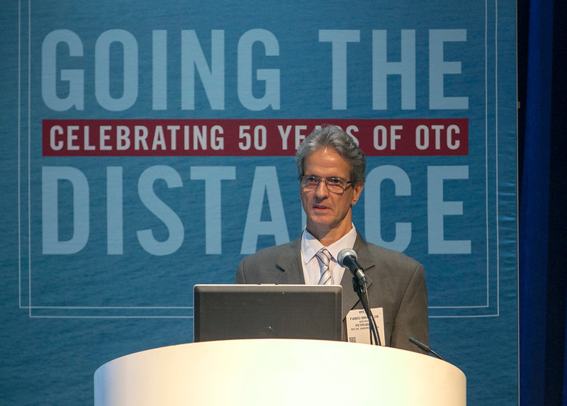 Fabio Azevedo from Petrobras, speaks  during Afternoon Technical Session: Risers and Pipelines