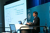 Bin Yue, from 2H Offshore, speaks during Afternoon Technical Session: Risers and Pipelines