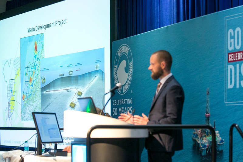 Kristian Norland speaks during Afternoon Technical Session: Risers and Pipelines