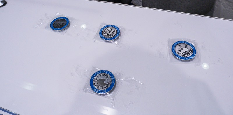 Exhibitors during Commemorative Coins