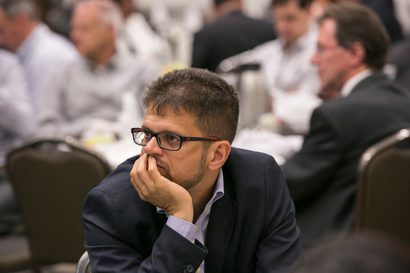 Jose Firmo, from IBP and attendees during \57\