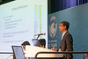 Vivek Jaiswal, from DNV GL USA Inc., presents Numerical Modeling of High Length-to-diameter Ratio Riser Subjected to VIV during Morning Technical Sessions