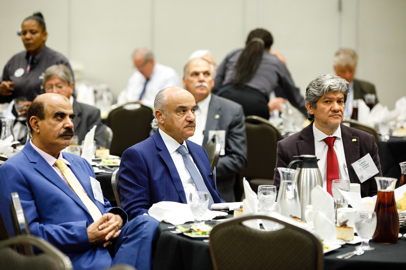 Attendees during Topical Luncheon: Where to Take Subsea Processing in the Current Market: Brown Field or Green Field? An Industry Perspective
