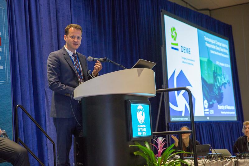 Kris van Nijen, General Manager, Global Sea Mineral Resources during Rice Alliance Startup Roundup