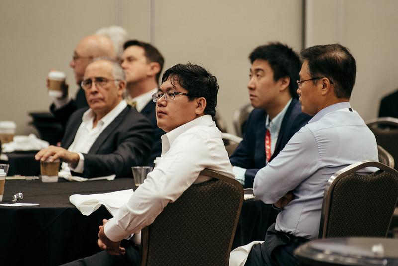 Takuma lino speaks during Topical Breakfast: Industry Breakfast: LNG Markets in Asia