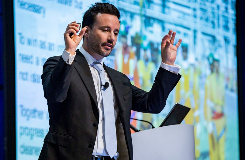 Francesco Menapace, Exploration Digitalization Opportunity Manager, Shell during PANEL: Active Arena: Big Data Next Chapter