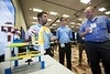 Students present their projects during OTC Energy Challenge