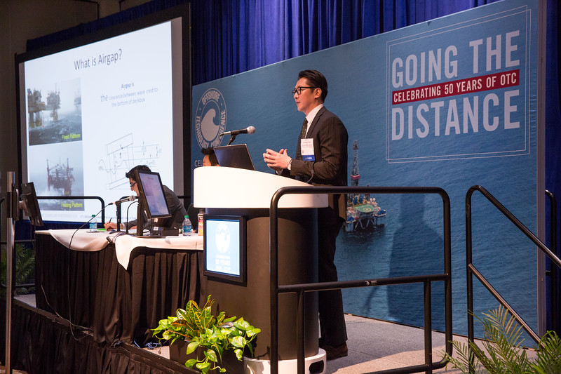 Youngkook Kim, with Lloyd's Register Global Technology Centre, presents An Evaluation Of An Air Gap Assessment Using A Focus Wave Technique during Morning Technical Sessions