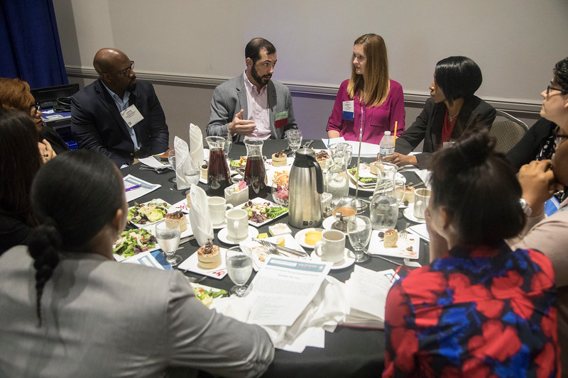 Attendees during Networking Event: WISE: Women in the Industry Sharing Experiences: