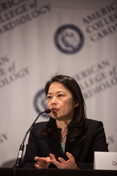 Eri Kato speaks during LBCT IV Press Conference