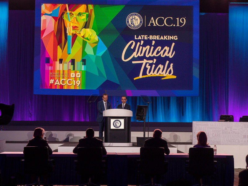 Mintu Turakhia speaks during Clinical Trials (LBCT) I: Apple Heart Study