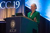 Noel Bairey Merz presents during 18th Annual Maseri-Florio International Keynote