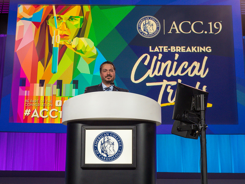 Renato Lopes discusses AUGUSTUS Trial during Late-Breaking Clinical Trials (LBCT) III