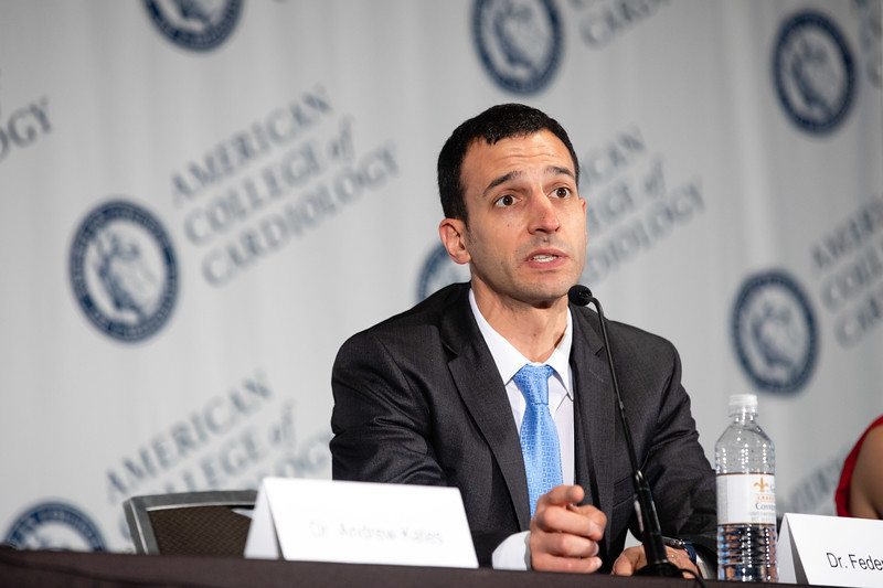 Federico Asch, MD, speaks during LBCT II Press Conference