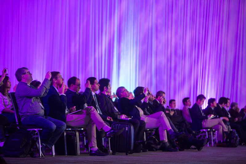 Attendees during Late-Breaking Clinical Trials (LBCT) IV: Clear Wisdom, Creole, Infinity, Declare, Reduce-It