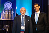 Amit V. Khera, MD, Douglas P. Zipes, MD, MACC, during Douglas P. Zipes, MD, MACC, Distinguished Young Scientist Award and Lecture
