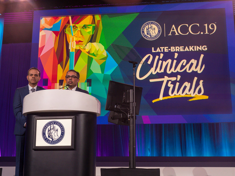 Mintu Turakhia speaks during Clinical Trials (LBCT) I: Apple Heart Study