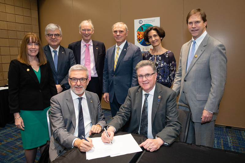 ACC and WHF representatives during ACC/WHF Signing Ceremony