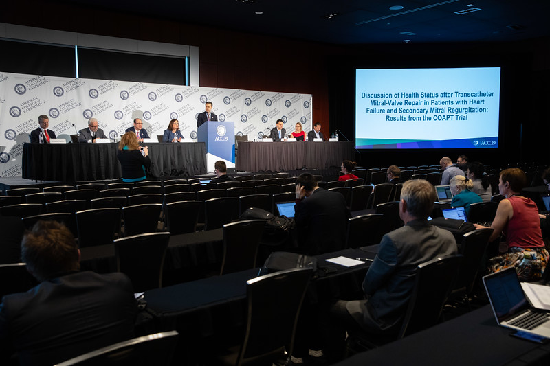 Andrew Kates, MD, FACC, speaks during LBCT II Press Conference