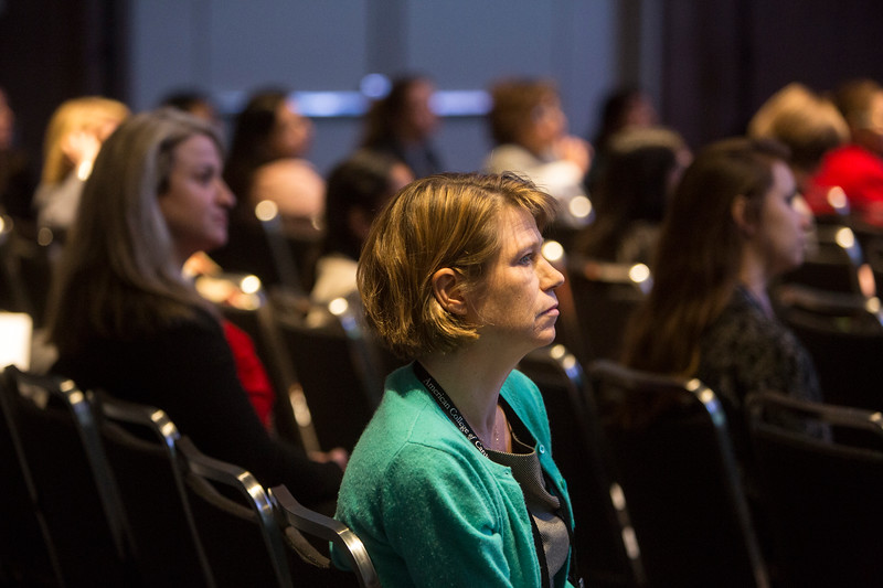 Attendees during Addressing Barriers to Women Entering and Advancing in Cardiology Session