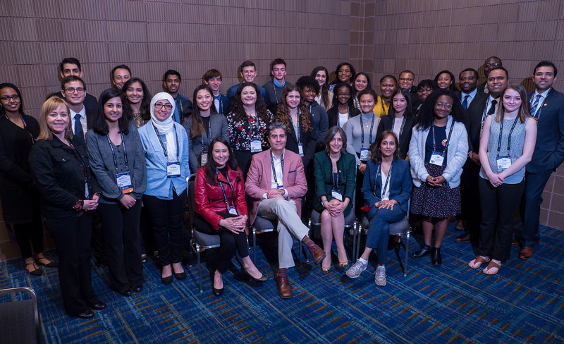 Young Scholars during Young Scholars Group Photo