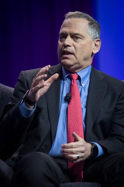"""Harlan Krumholz speaks during """"Disruption"""" Panel after LBCT I"""
