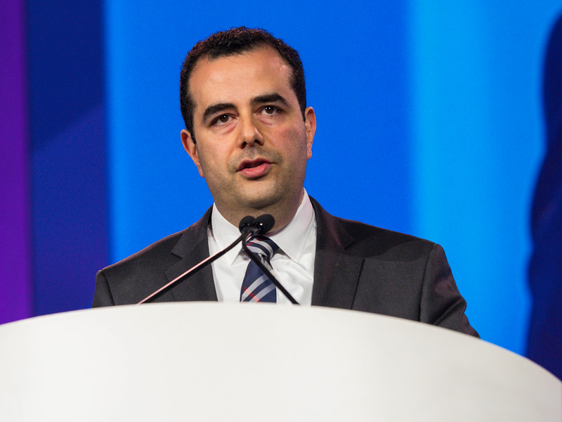 Khaldoun Tarakji discusses WRAP-IT Trial during Late-Breaking Clinical Trials (LBCT) III