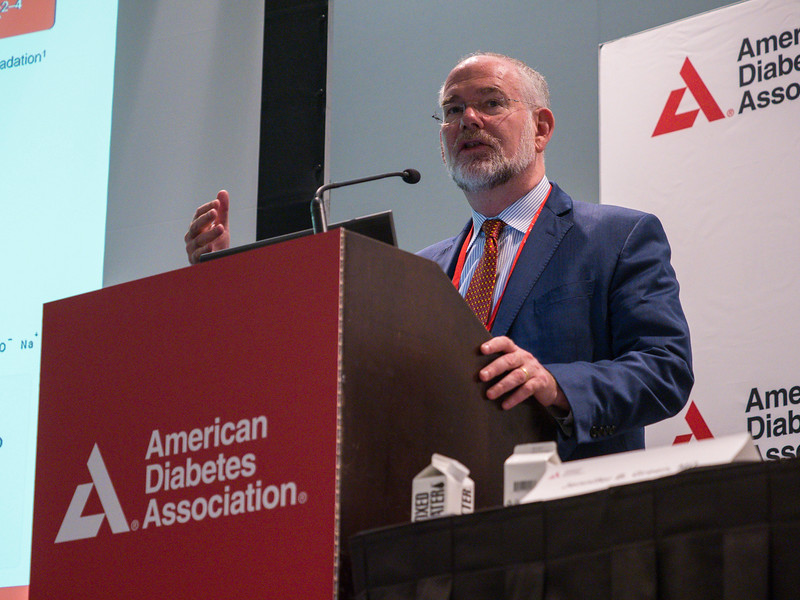 John B. Buse, MD, PhD speaks during News Briefing: Diabetes and Cardiovascular & Renal Outcomes: Part I