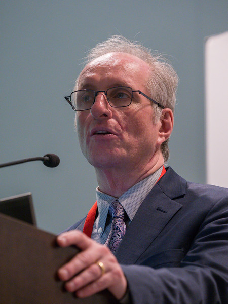 Hertzel C. Gerstein, MD speaks during News Briefing: Diabetes and Cardiovascular & Renal Outcomes: Part I