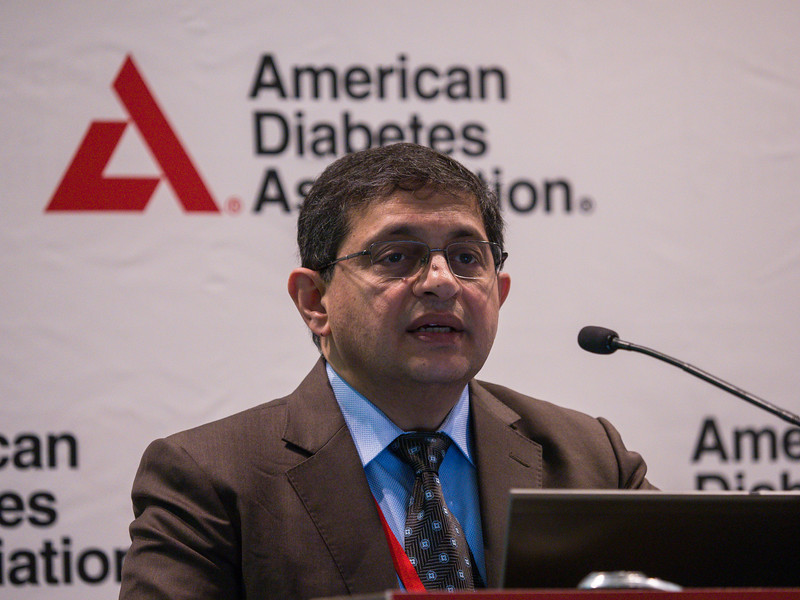 Mansoor Husain, MD speaks during News Briefing: Diabetes and Cardiovascular & Renal Outcomes: Part I