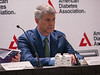 Lawrence A. Leiter, MD, FRCPC, FACP, FACE, FAHA, FACC speaks during News Briefing: Diabetes and Cardiovascular & Renal Outcomes: Part I