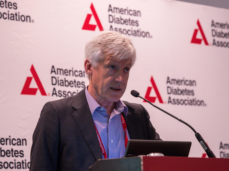 Ian Macdonald, PhD speaks during Prevention of Type 2 Diabetes President Health Care & Education Address and Outstanding Educator in Diabetes Award Lecture