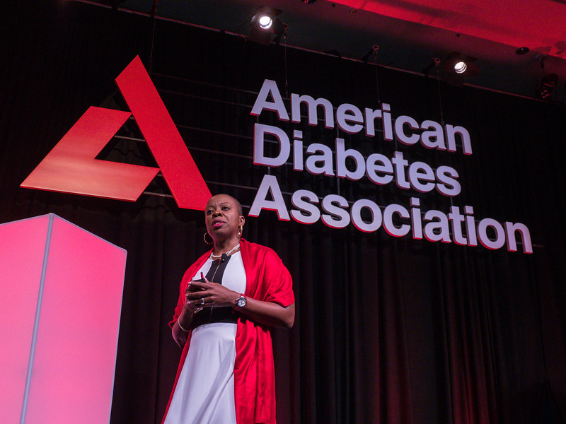 ADA CEO Tracey D. Brown during President Health Care & Education Address and Outstanding Educator in Diabetes Award Lecture