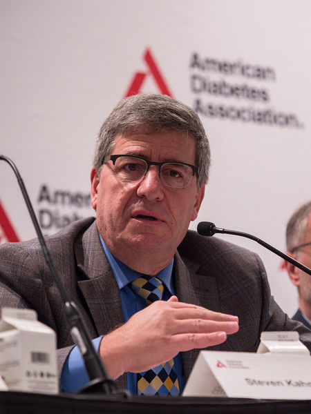 Steven E. Kahn, MB, ChB speaks during Reversal and Management of Type 2 Diabetes Press Briefing